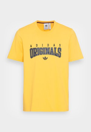 SCRIPT TEE - T-shirt med print - bold gold