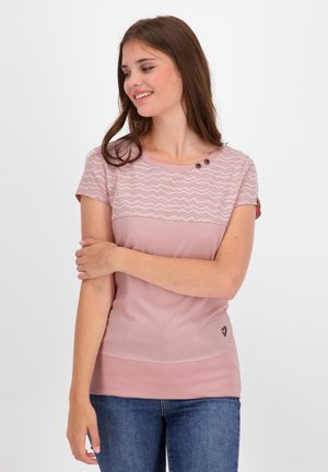 CORAAK - Print T-shirt - blush