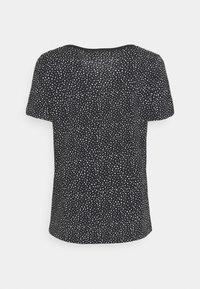 edc by Esprit - V NECK TEE - Print T-shirt - black - 1