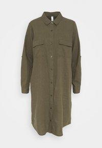 Soyaconcept - INA - Shirt dress - dark army - 0