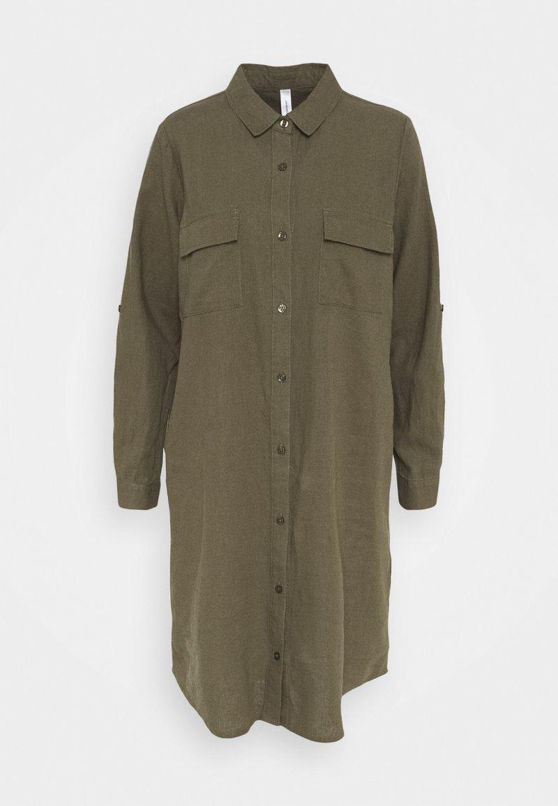 Soyaconcept - INA - Shirt dress - dark army