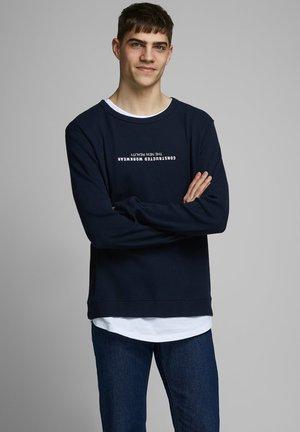 SWEATSHIRT RUNDHALSAUSSCHNITT - Sweatshirt - sky captain
