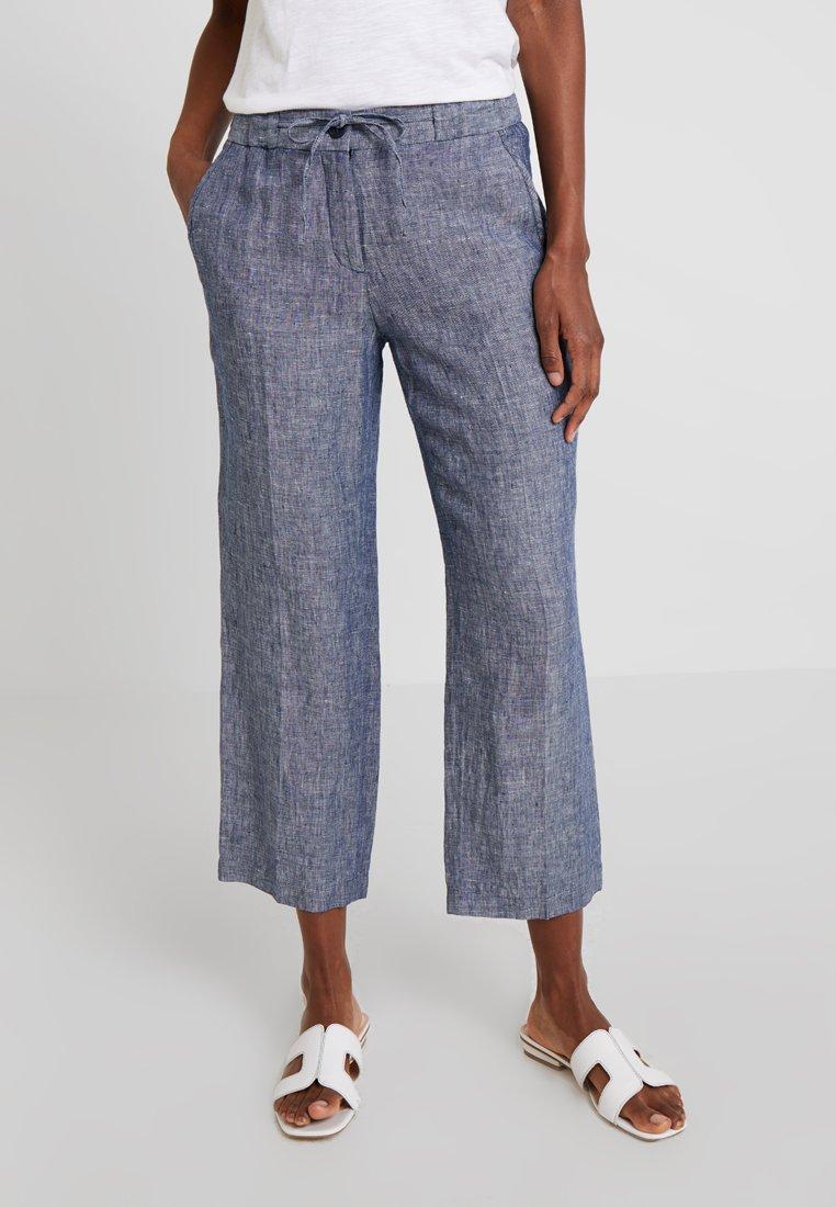 Opus - MARITTA - Trousers - simply blue
