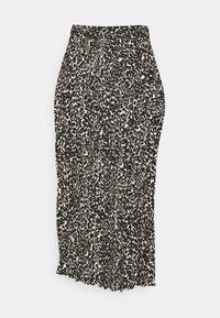 FQPAULA MARU - A-line skirt - black mix