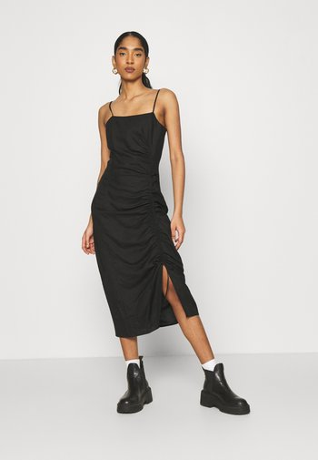 ZOE DRESS - Shift dress - schwarz