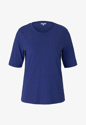 T-shirt z nadrukiem - anemone blue