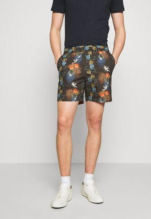 FRONT - Shorts - black