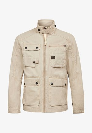 UTILITY WASHED FIELD - Tunn jacka - khaki gd