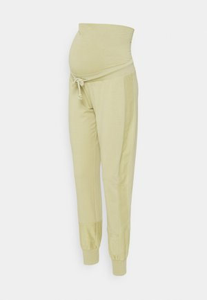 MLBELMA PANTS - Tracksuit bottoms - sage green