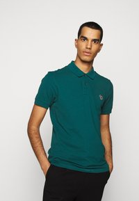 PS Paul Smith - MENS SLIM FIT - Poloshirts - dark green - 0