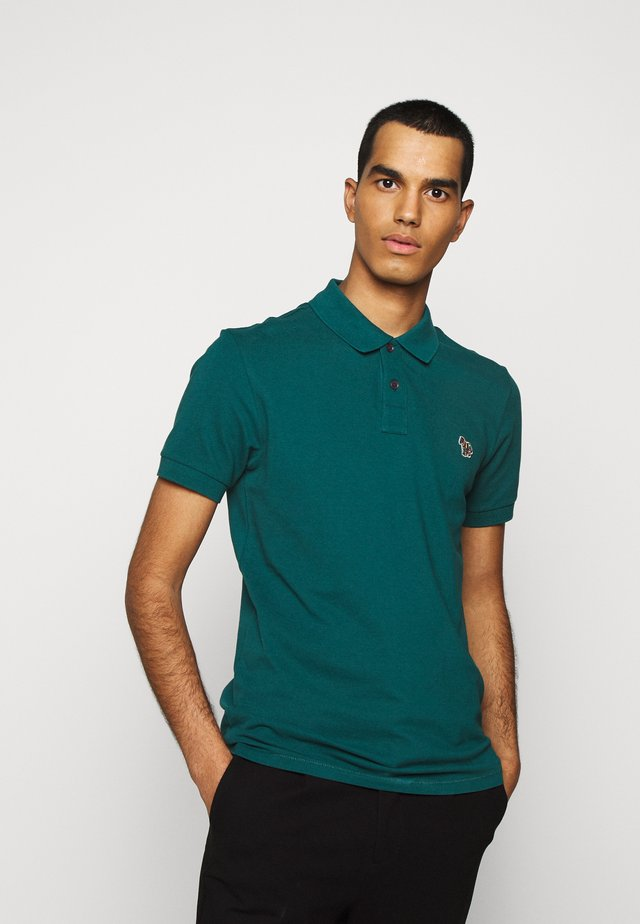 MENS SLIM FIT - Polo shirt - dark green