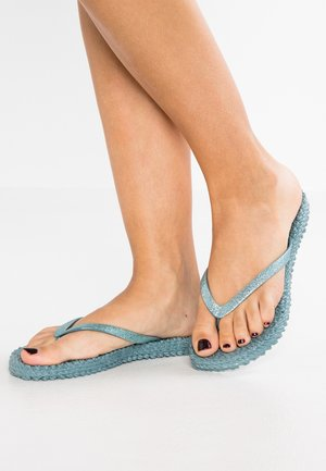 CHEERFUL - Pool shoes - lichen blue