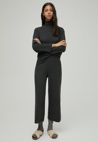PULL&BEAR - Trousers - dark grey - 1