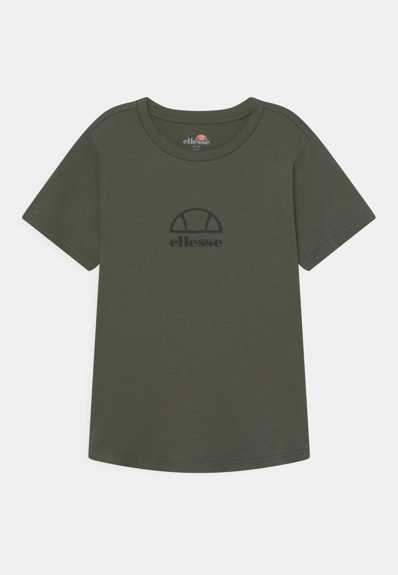 Ellesse - MARYAM UNISEX - Print T-shirt - dark green