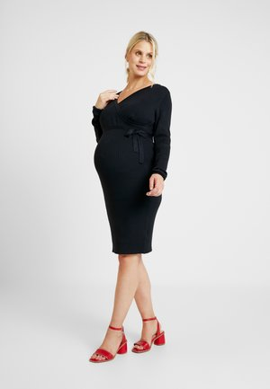 Jerseyklänning - anthracite