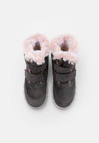 Superfit - ICEBIRD - Zimní obuv - grau/rosa - 3