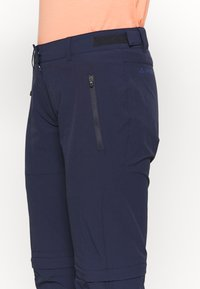 Vaude - WOMENS FARLEY STRETCH ZIP PANTS - Trousers - eclipse - 3