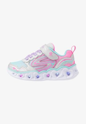 HEART LIGHTS - Sneakers basse - silver/multicolor