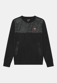 Ellesse - NORITIO UNISEX - Long sleeved top - black - 0