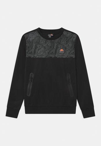 NORITIO UNISEX - Long sleeved top - black
