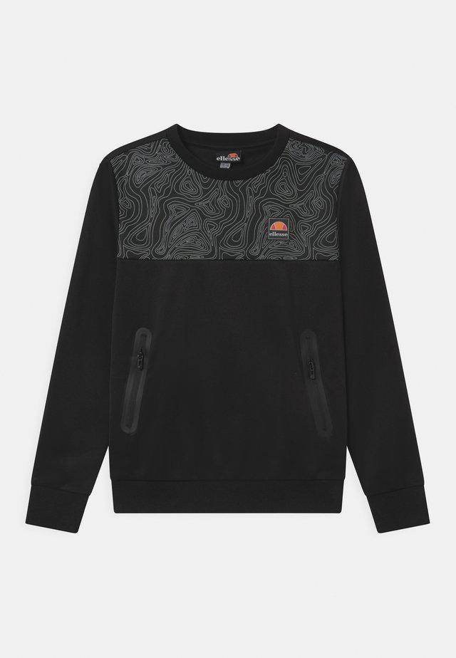 NORITIO UNISEX - T-shirt à manches longues - black