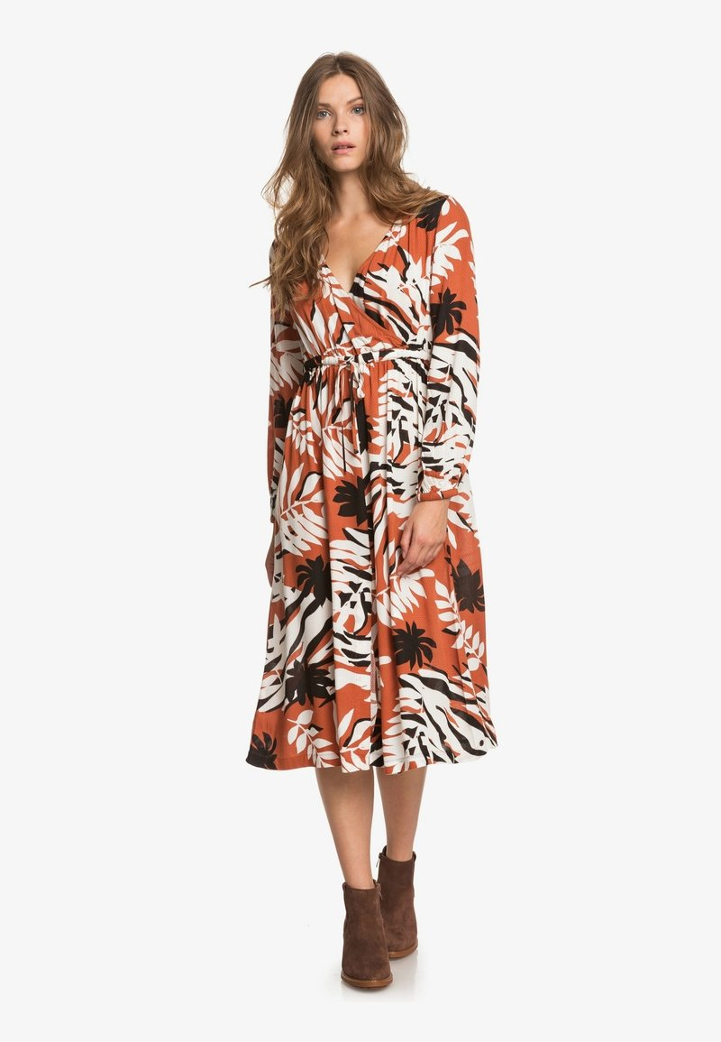Roxy - ABOUT YOU NOW - Day dress - auburn savana big scale