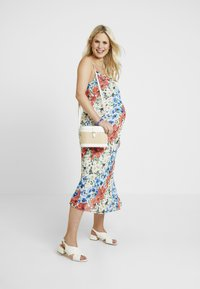 Topshop Maternity - GLITCH FLORAL DRESS - Maxi dress - multi-coloured - 2