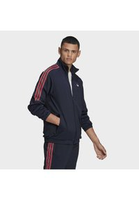 adidas Originals - SPRT 3-STRIPES TRACK TOP - Training jacket - blue - 0