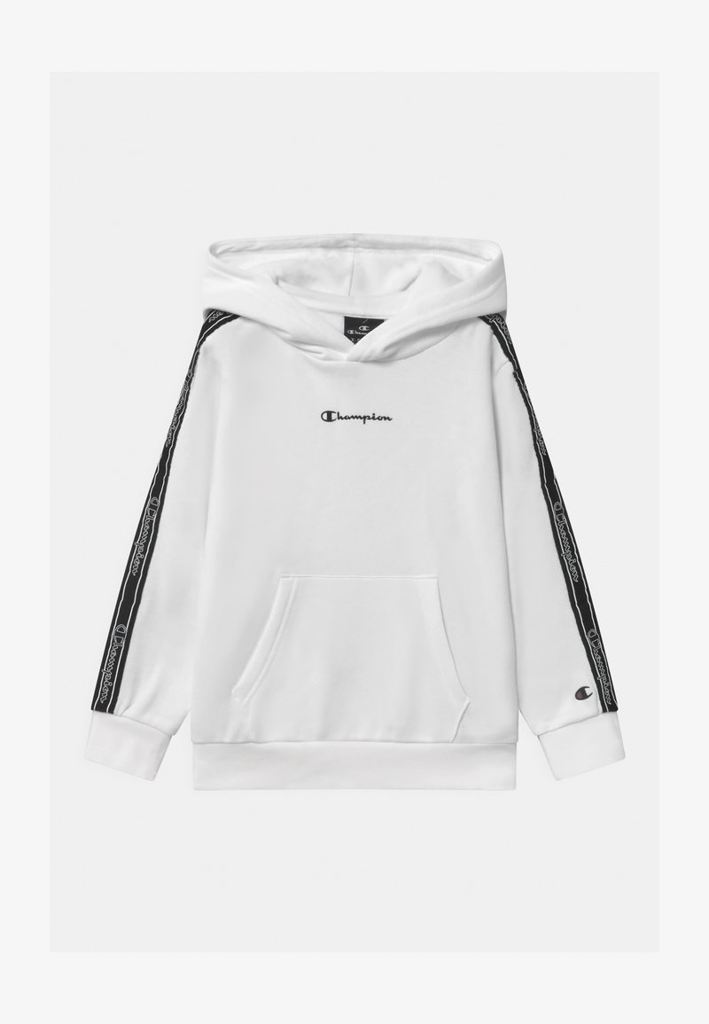 Champion - LEGACY AMERICAN TAPE HOODED - Felpa con cappuccio - white
