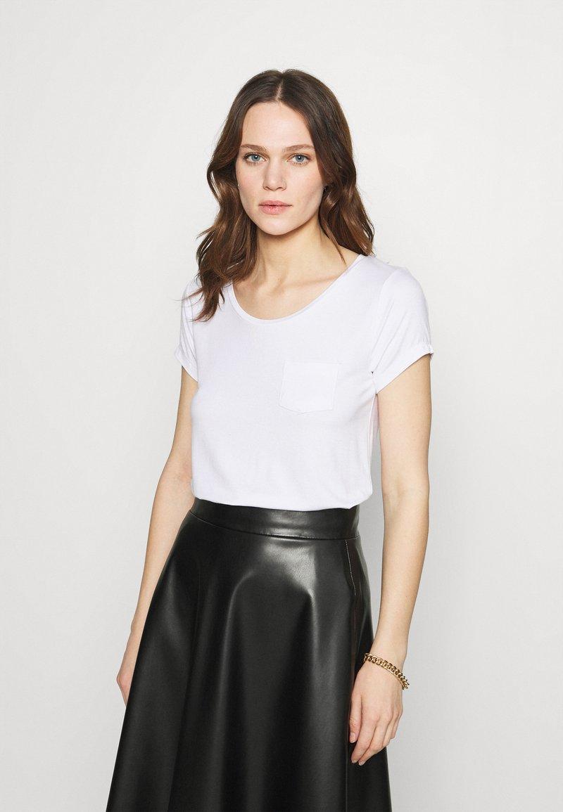 Zign - Basic T-shirt - white
