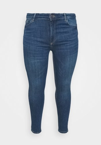 PCDELLY  - Jeans Skinny - medium blue denim