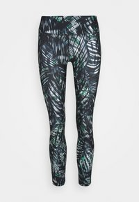 Sweaty Betty - CONTOUR WORKOUT LEGGINGS - Legging - beetle blue - 3