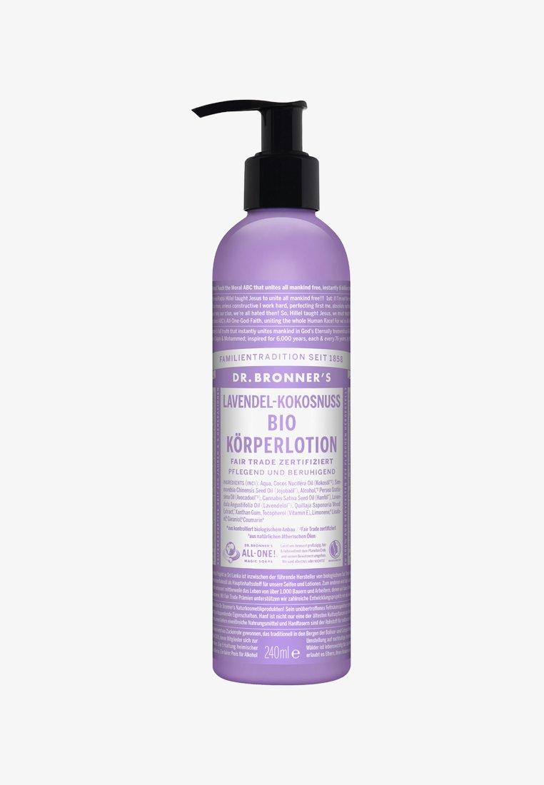 Dr. Bronner´s - BIO BODY LOTION 240ML - Hydratant - lavendel-kokonuss