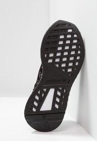 adidas Originals - DEERUPT RUNNER - Trainers - core black/footwear white/grey five - 5