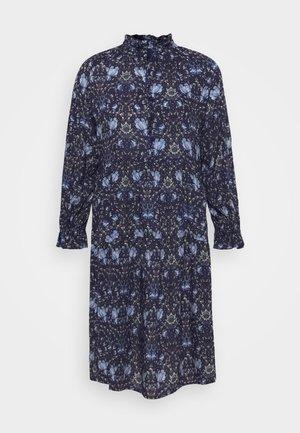 SHEER - Košilové šaty - blue