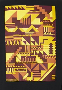 WAWWA - SNAFU LONGSLEEVE UNISEX - Long sleeved top - black/gold - 6