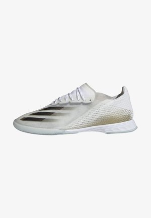 X GHOSTED.1 INDOOR BOOTS - Indoor football boots - white