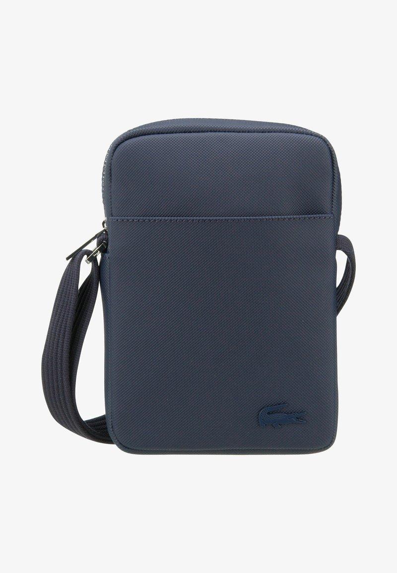 Lacoste - CAMERA BAG - Camera bag - peacoat