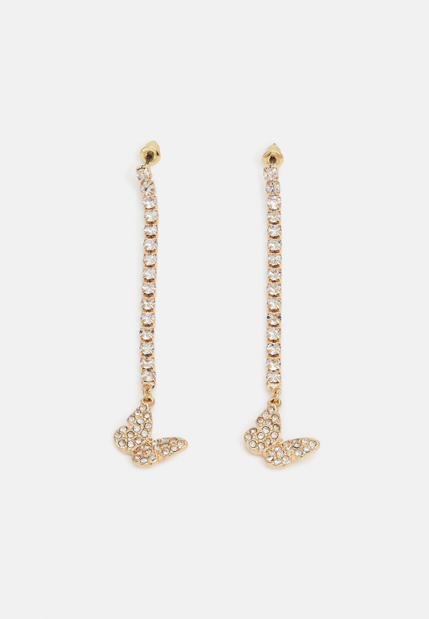 Women BURRTERFLY CUPCHAIN DROP - Earrings