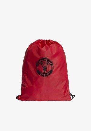 Drawstring sports bag - red