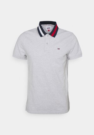 FLAG NECK  - Polo shirt - grey