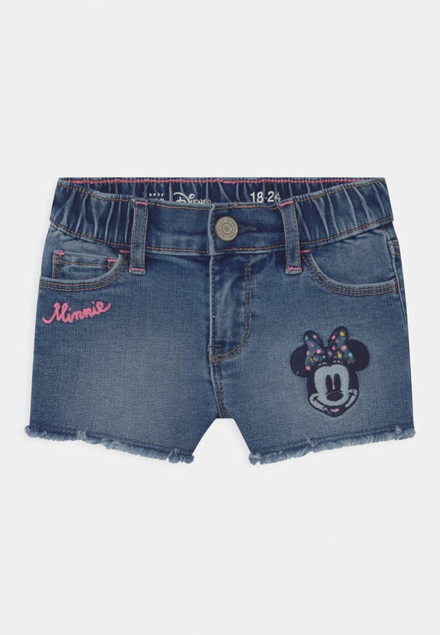 TODDLER GIRL MINNIE MOUSE - Shorts di jeans - blue denim