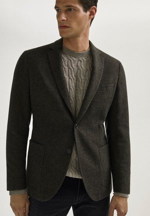 SLIM-FIT - Blazer jacket - green