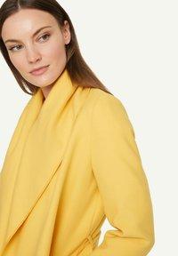 comma - Classic coat - yellow - 3