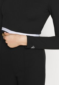 Calvin Klein Jeans - MONOCHROME MILANO - Long sleeved top - black - 6