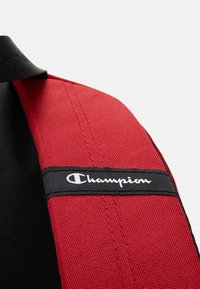 Champion - LEGACY BACKPACK - Rucksack - dark red/black