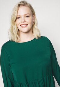Missguided Plus - TIERED SMOCK DRESS - Day dress - green - 6