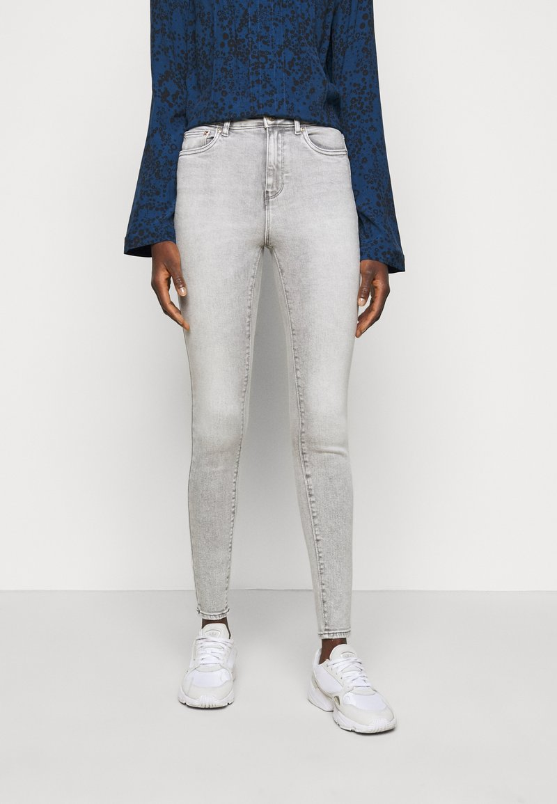 ONLY Tall - ONLMILA ANK - Jeans Skinny Fit - light grey denim