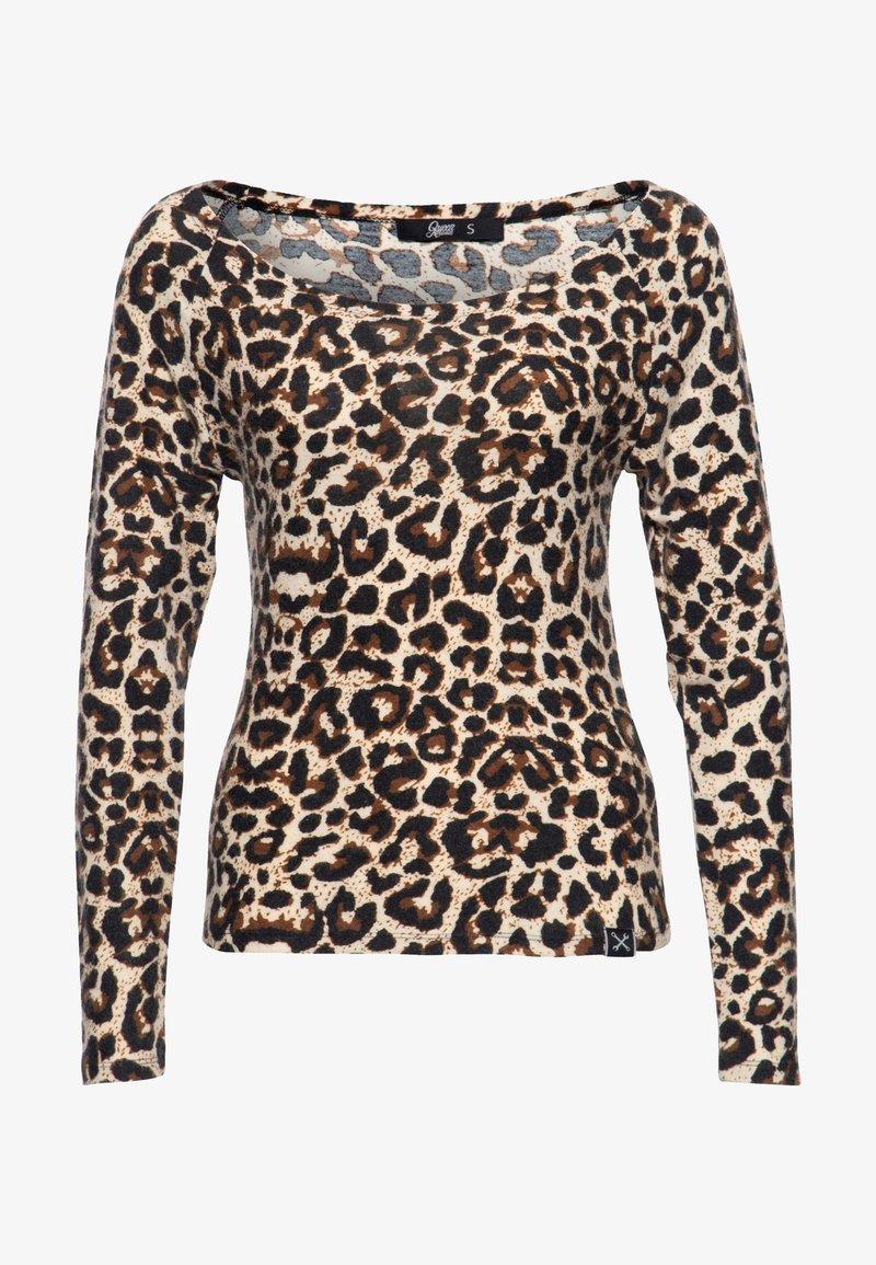 Queen Kerosin - LONGSLEEVE - Long sleeved top - leo