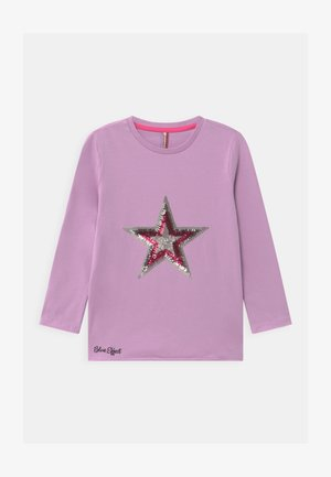 GIRLS STERN - T-shirt à manches longues - pastel lila reactive